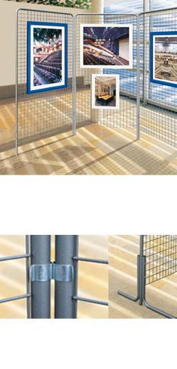 panneaux vitrine d 39 affichage et d 39 information grilles d. Black Bedroom Furniture Sets. Home Design Ideas