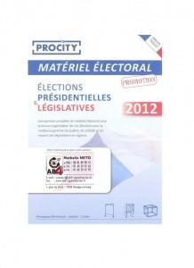 materiel electoral